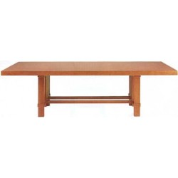 Bauhaus Designer dining/conference  table Taliesin 2, F. L. Wright 1917