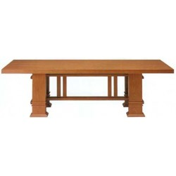 Designer dining table Frank Lloyd Wright 1917, Bauhaus furniture