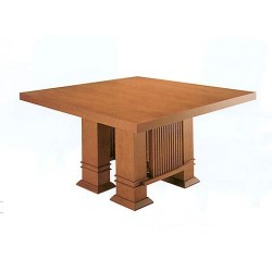 Taliesin table 1917 normal, Frank Lloyd Wright - Bauhaus Esstisch