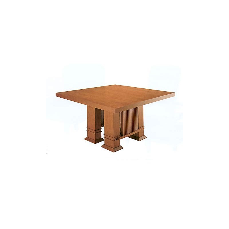 Designer dining table Taliesin Frank Lloyd Wright 1917