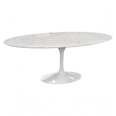 Bauhaus Table oval 516 by Eero Saarinen (1956)