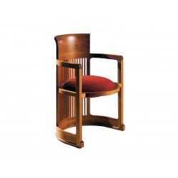 "Designer Armchair ""Barrel"" F. L. Wright  (1937)"