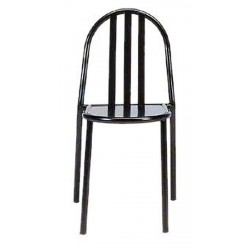 Designer metal Chair stackable by R. M. Stevens (1930)