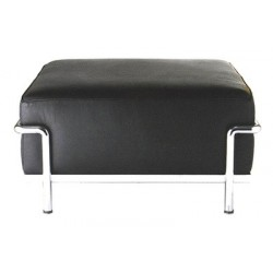 LC2, Pouff upholstered leather DS 24, by Le Corbusier