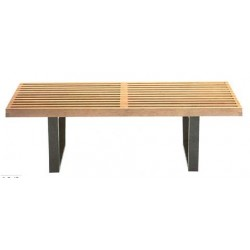 Designer wooden Bench 162, by Georg Nelson 1947
