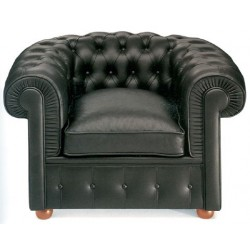 Designer Armchair Chesterfield by Walter Gropius