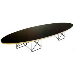 Coffee table elliptical by Charles Eames (1950) Bauhaus
