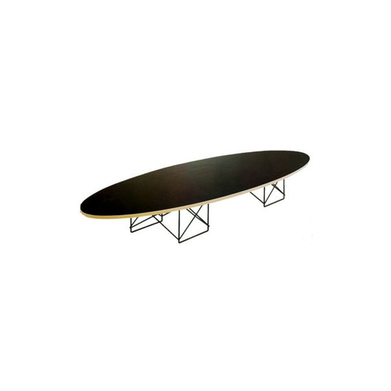 Bauhaus table elliptical 460 charles eames 1950 for Bauhaus eames chair