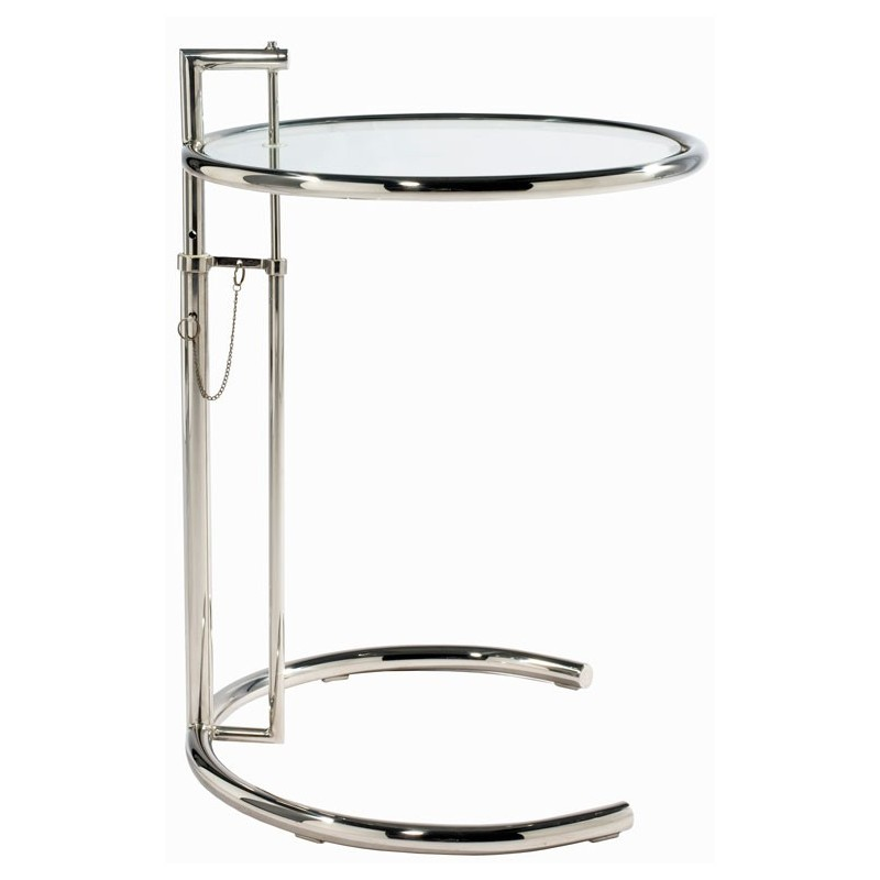 Couch Table E 1027 adjustable by Eileen Gray 1927 Bauhaus