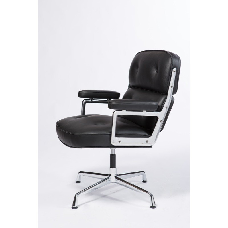 Turnable Office chair by Bauhaus designer Charles Eames-Alu-Group