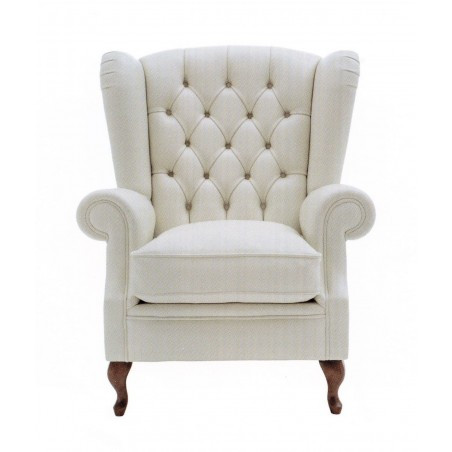 """Chesterfield """"Wing chair"""" Bauhaus age"""